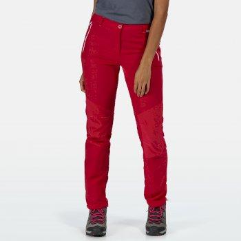 Sungari II leichte Wander-Stretchhose für Damen Rosa