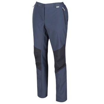 Sungari II leichte Wander-Stretchhose für Damen Grau