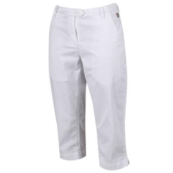 Kimberley Walsh Maleena II Casual Capri Trousers - White