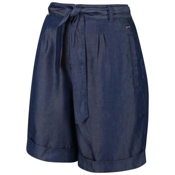 Samira Casual Shorts für Damen Blau