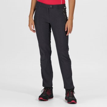 Regatta Women's Highton Stretch Walking Trousers - Seal Grey