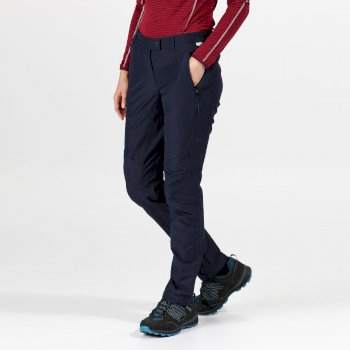 Regatta Women's Highton Stretch Walking Trousers - Navy