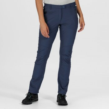 Highton Stretch Walkinghose für Damen Blau