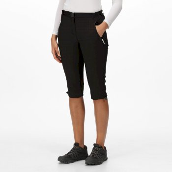 XERT STRETCH CAPRI LIGHT FÜR DAMEN Schwarz