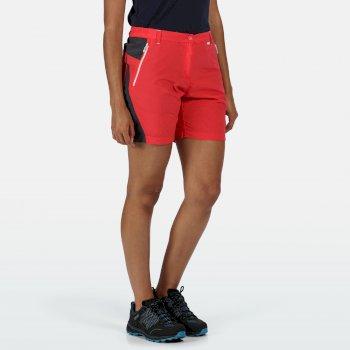 Sungari II Walkingshorts für Damen Rot