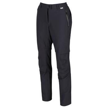 Highton Zip-Off-Walkinghose für Damen Grau