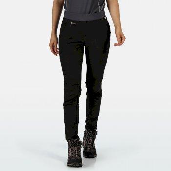 Zarine II Walkinghose für Damen Schwarz