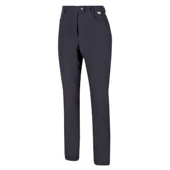 Women's Highton Jean-Style Walking Trousers Grau