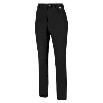 Damen Highton Jean-Style Laufhose Schwarz