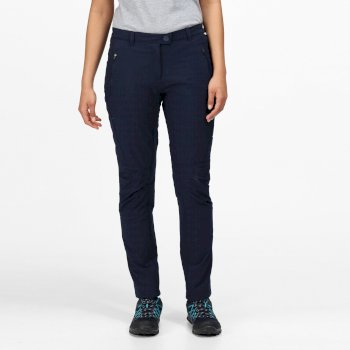 Highton Winter Walkinghose mit vielen Taschen für Damen Blau