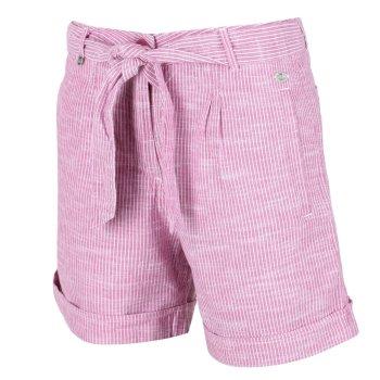 Samora Shorts für Damen Violett