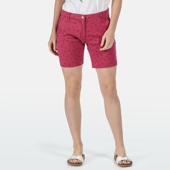 Solita II Shorts für Damen Violett