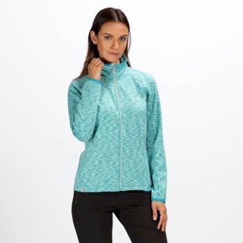 Harty II Damen-Softshelljacke In Stretch-Qualität türkis