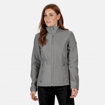 Regatta Women's Charley Marl Softshell Jacket - Rock Grey