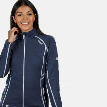 Hentana II Stretch-Midlayer für Damen Blau