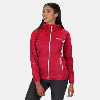 Tarvos III Softshell-Jacke mit Kapuze für Damen Rosa