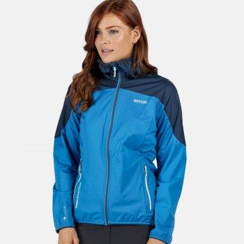 Tarvos III Softshell-Jacke mit Kapuze für Damen Blau