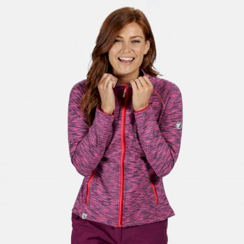 Harty III Stretch-Midlayer für Damen Rosa