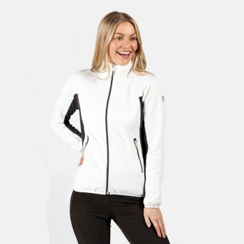 Yare II Softshell-Stretch-Midlayer für Damen Weiß