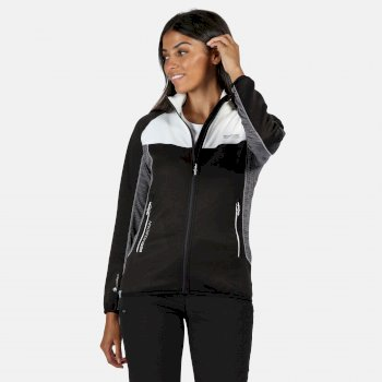 Yare II Softshell-Stretch-Midlayer für Damen Schwarz
