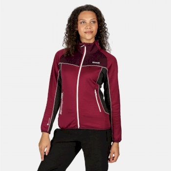 Yare II Softshell-Stretch-Midlayer für Damen Lila