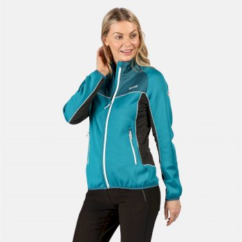 Yare II Softshell-Stretch-Midlayer für Damen Blau