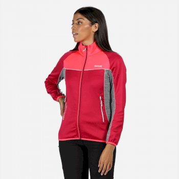 Yare II Softshell-Stretch-Midlayer für Damen Rosa