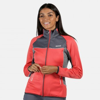 Yare II Softshell-Stretch-Midlayer für Damen Rot