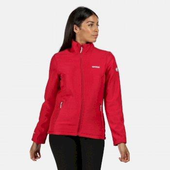 Connie IV Softshell-Jacke für Damen Rosa