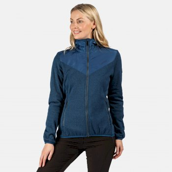 Upham Hybrid Softshell-Jacke mit Kapuze für Damen Blau