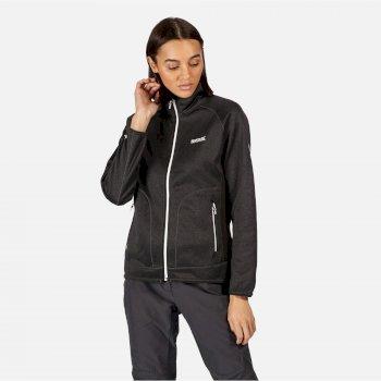 Cinley II Hybrid Stretch-Softshell-Jacke für Damen Schwarz
