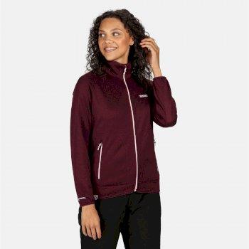 Cinley II Hybrid Stretch-Softshell-Jacke für Damen Lila