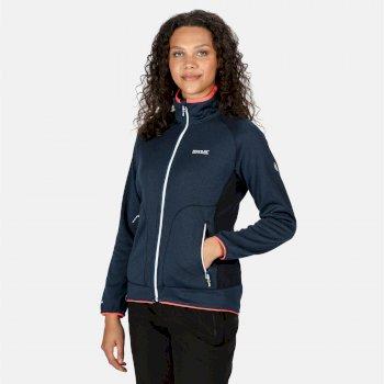 Cinley II Hybrid Stretch-Softshell-Jacke für Damen Blau