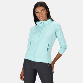 Cuba Softshell-Walkingjacke mit Kapuze für Damen Blau