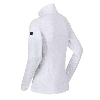 Kelford Softshell-Walkingjacke mit Kapuze für Damen Weiß