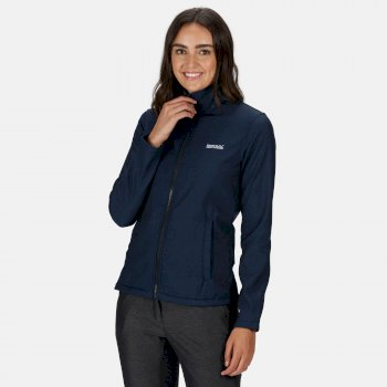 Regatta Women's Connie V Softshell Walking Jacket - Navy Marl