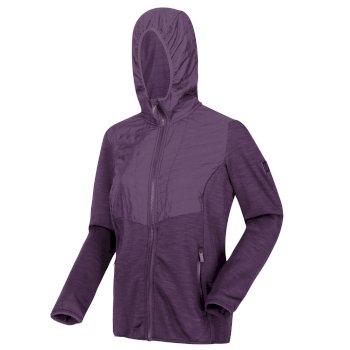 Upham II Softshell Hybrid-Damenjacke mit Kapuze Lila