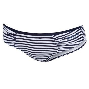 Regatta Women's Aceana Bikini Briefs - Navy Stripe