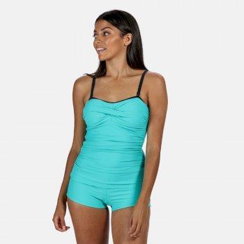 Aceana II Tankini-Top für Damen Blau