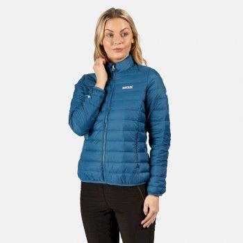 Whitehill leichte, gesteppte Walkingjacke mit Daunenfüllung für Damen Blau