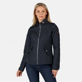 Regatta Women's Carita Quilted Jacket - Navy