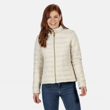 Regatta Women's Karenna Quilted Insualted Jacket - Light Vanilla