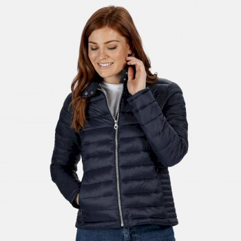 Women's Karenna Quilted Insualted Jacket Blau