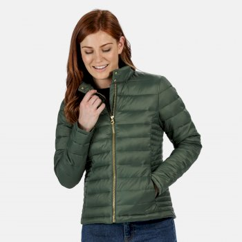 Women's Karenna Quilted Insualted Jacket Grün