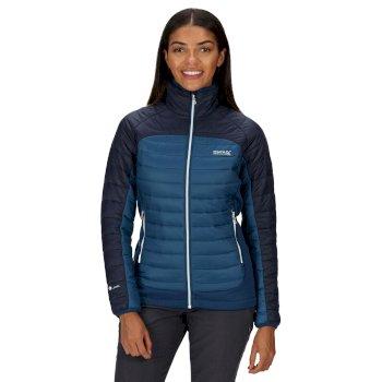 Halton IV leichte, gesteppte Stretch-Walkingjacke für Damen Blau