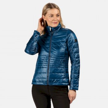Regatta Women's Lustel Lightweight Insulated Quilted Walking Jacket - Blue Opal