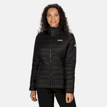 Regatta Women's Freezeway II Insulated Quilted Walking Jacket - Black