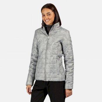Regatta Women's Freezeway II Insulated Quilted Walking Jacket - Light Steel