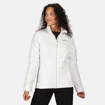 Freezeway II isolierte, gesteppte Walkingjacke für Damen Weiß