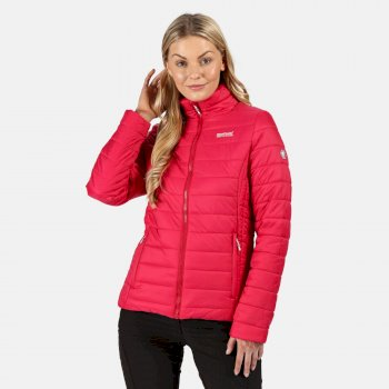 Regatta Women's Freezeway II Insulated Quilted Walking Jacket - Dark Cerise